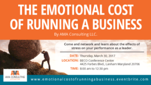 The Emotional Cost of Running a Business